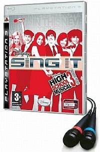 Disney Sing It: High School + Mikrofony (PS3)